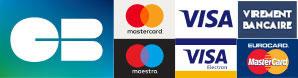 Modes de paiement disponibles et entièrement sécurisés