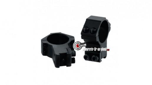 Colliers de montage haut pour lunette de 30 mm - 11 mm