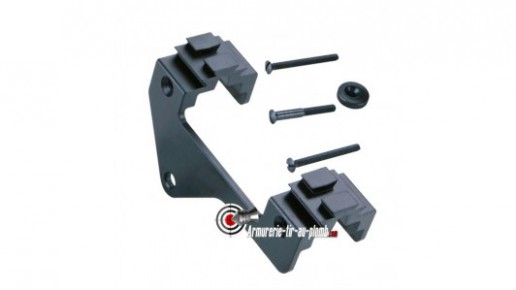 Montage 11 et 22 mm pour carabine Walther Lever Action