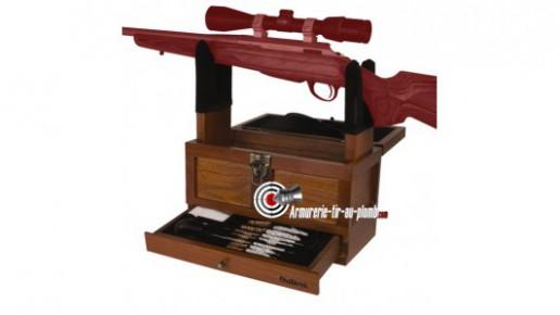 Coffret de luxe pour entretien et nettoyage de fusils et carabines