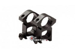Colliers de montage haut pour lunette de un pouce - 22 mm