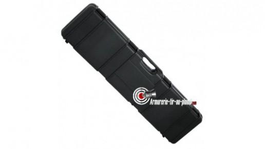 Grande mallette solide à clefs pour carabines - 119 cm
