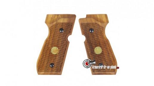 Plaquettes bois pour Beretta 92 FS