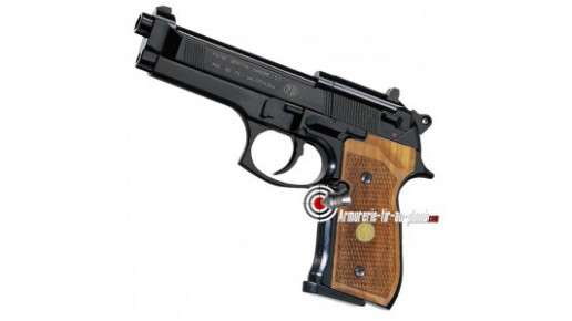 Beretta 92 FS - bronzé noir crosse bois