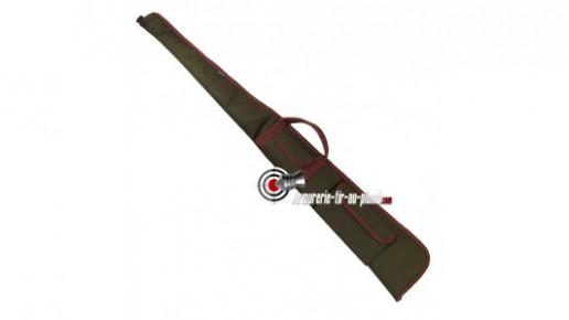 Fourreau vert et marron à deux poches - 145 cm