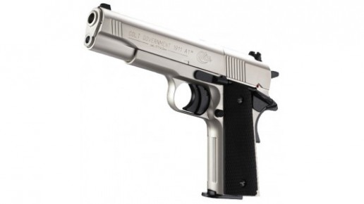 Colt Government 1911 A1 - Nickel