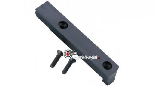 Rail 11 mm pour revolvers Smith & Wesson 586 et 686