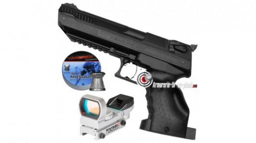 Pack Zoraki HP-01 Light 4.5 mm (droitier)