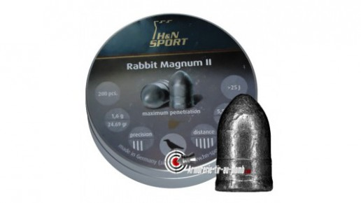 Plombs H&N Rabbit Magnum II - 5.5 mm