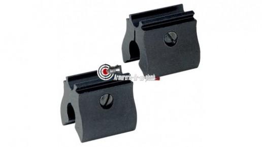 Montage pour pistolets et carabine Crosman - 11 mm