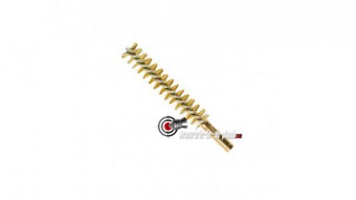 Ecouvillon laiton pour calibre 5.5 mm / .22