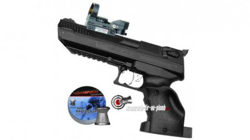 Zoraki HP-01 Light 4.5 mm (droitier) avec point rouge