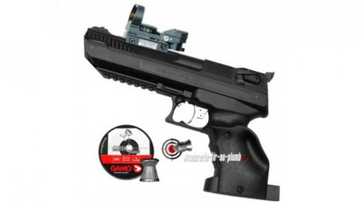 Zoraki HP-01 Light 5.5 mm (droitier) avec point rouge