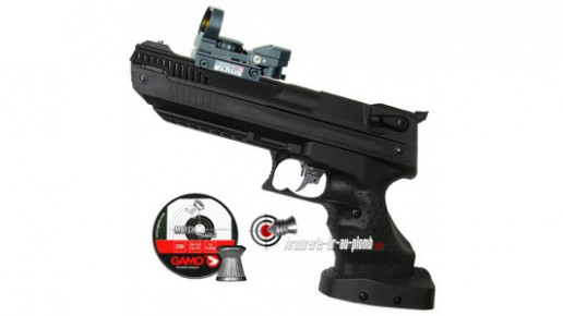 Zoraki HP-01 Light 5.5 mm (gaucher) avec point rouge