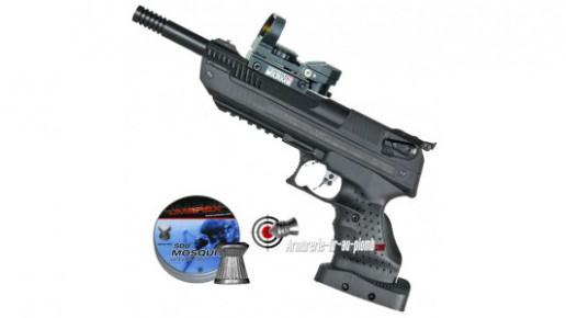 Zoraki HP-01 Ultra 4.5 mm (gaucher) avec point rouge