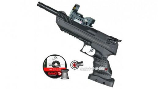 Zoraki HP-01 Ultra 5.5 mm (gaucher) avec point rouge