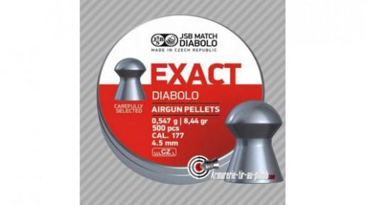 Plombs JSB Exact Diabolo - 4.50 mm