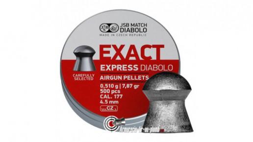 Plombs JSB Exact Express Diabolo - 4.52 mm