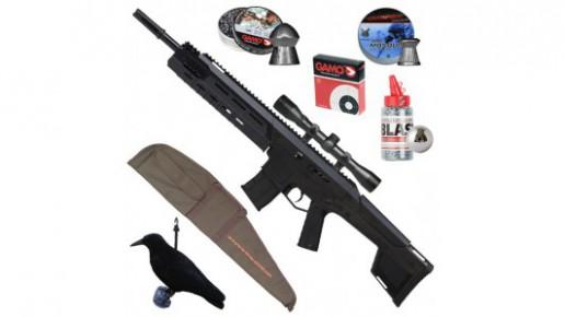 Pack Crosman MK 177 Noir - Prêt à tirer