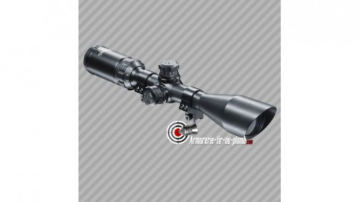 Lunette Walther ZF 3-9x44 Sniper coupe sifflet - 11 mm