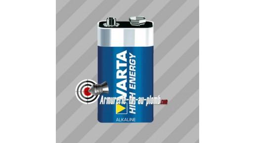 Pile Varta 9V (High Energy)