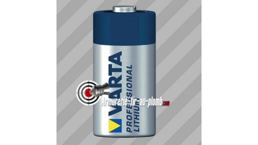 Pile CR123A (Lithium Professional)