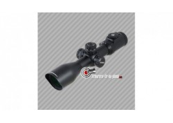 Lunette de tir UTG accushot swat IE scope 3-12x44 réticule lumineux