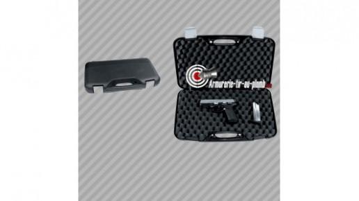 Mallette de transport pour arme de poing 50x30x8.5cm