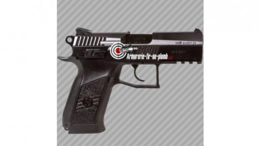 CZ 75D Compact Pistolet Bille Acier