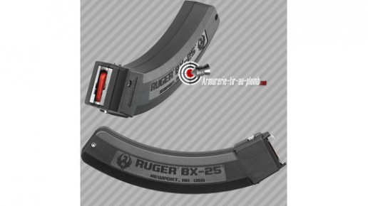 Chargeur .22 LR Ruger Takedown -  25 coups