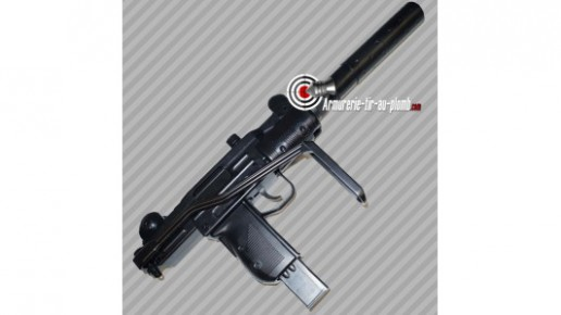 Pistolet IWI Mini Uzi blowback à crosse pliante CO2