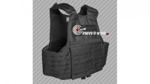 Gilet Carrier laser cut noir