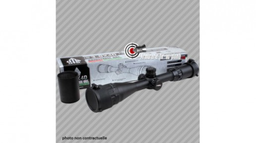 Lunette de chasse UTG 4-16x50 à réticule lumineux - 22 mm