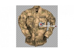 Chemise Mil-tacs Commando camouflage - Taille L