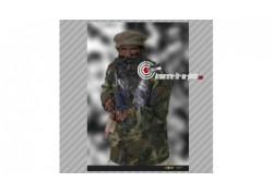 """Cible papier cartonné """"soldat armé"""" - 70 x 50"""