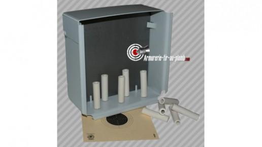 Cible Sirius pour tir au plomb - 6 tubes d'argile