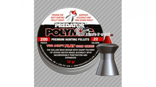 JSB Predator Polymag Plomb 4,5 mm