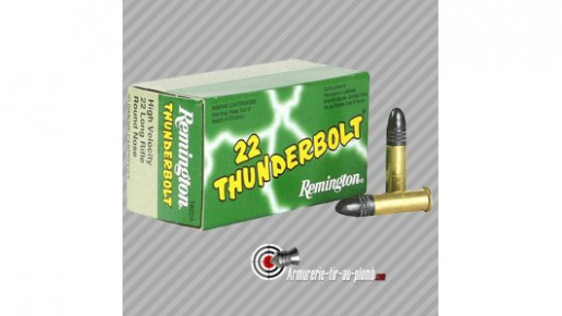 Cartouches Remington 22LR Thunderbolt