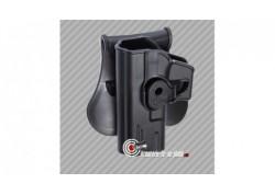 Holster Glock series polymère pour gaucher