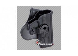 Holster Glock series polymère pour droitier