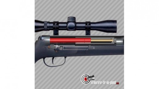 Carabine à plomb Crosman F4 Nitro piston avec lunette 4x32