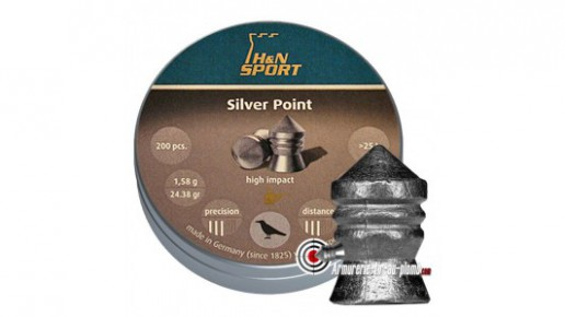 Plombs H&N Silver Point - 6.35 mm