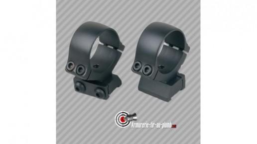 Colliers de montage haut métal CZ527 30mm pour rail 11mm