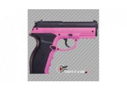 Pistolet à billes acier Crosman P10 Wildcat rose