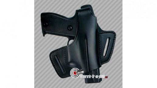 Holster de ceinture en cuir Diplomat pour Sig Sauer P225 P226