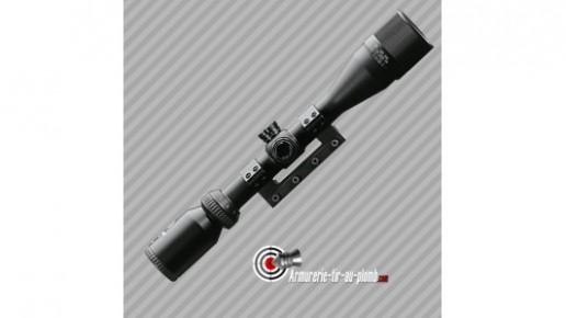 Lunette Stoeger 3-9x40AO Z-plex avec monobloc pour rail 11mm