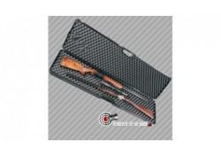 grande mallette solide 4 glissières pour arme longue 133 cm