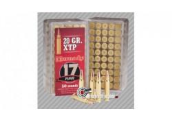 50 cartouches 22LR Hornady XTP 17HMR 20 grains