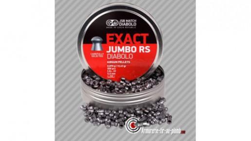Plombs JSB Exact Jumbo Diabolo - 5.52 mm