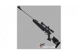 Carabine à plombs Swiss Arms TG1 noir avec lunette 4x40 - 20 joules